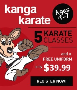 Kanga Karate Program for Kids