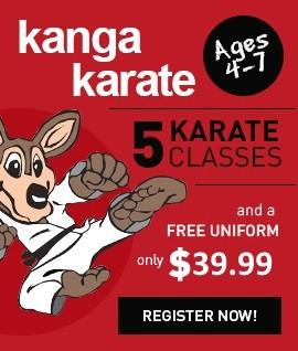 Kanga Karate kids offer